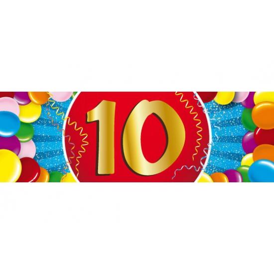 Image of 10 jaar sticker