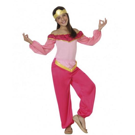 Image of 1001 nacht meisjes kostuum roze