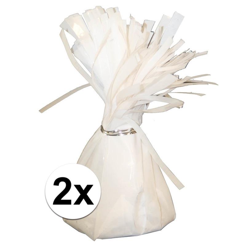 Image of 2 Ballongewichten wit 170 gr