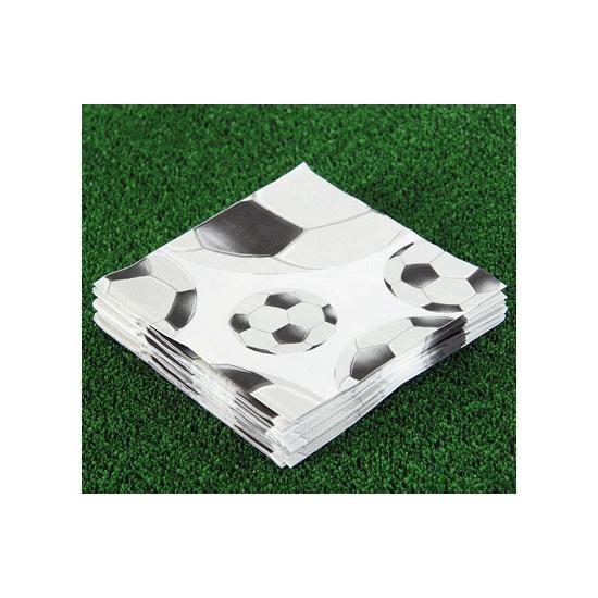 Image of 20 stuks voetbal servetten
