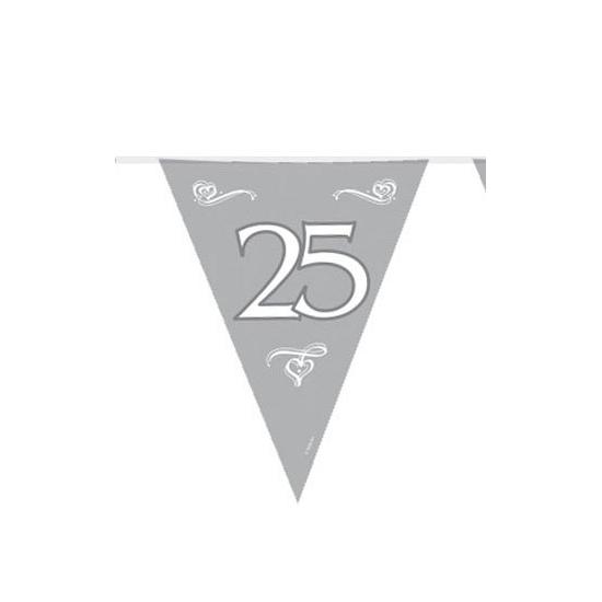 Image of 25 jaar getrouwd vlaggenlijn
