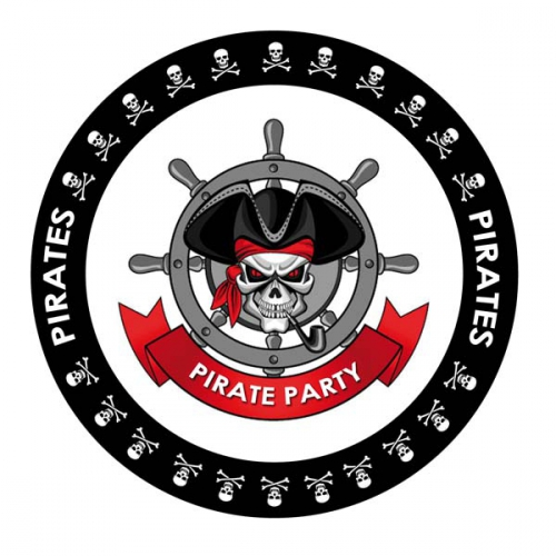 Image of 25x bierviltjes Piraten