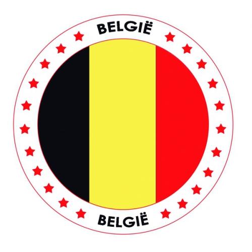 Image of 25x bierviltjes van Belgie