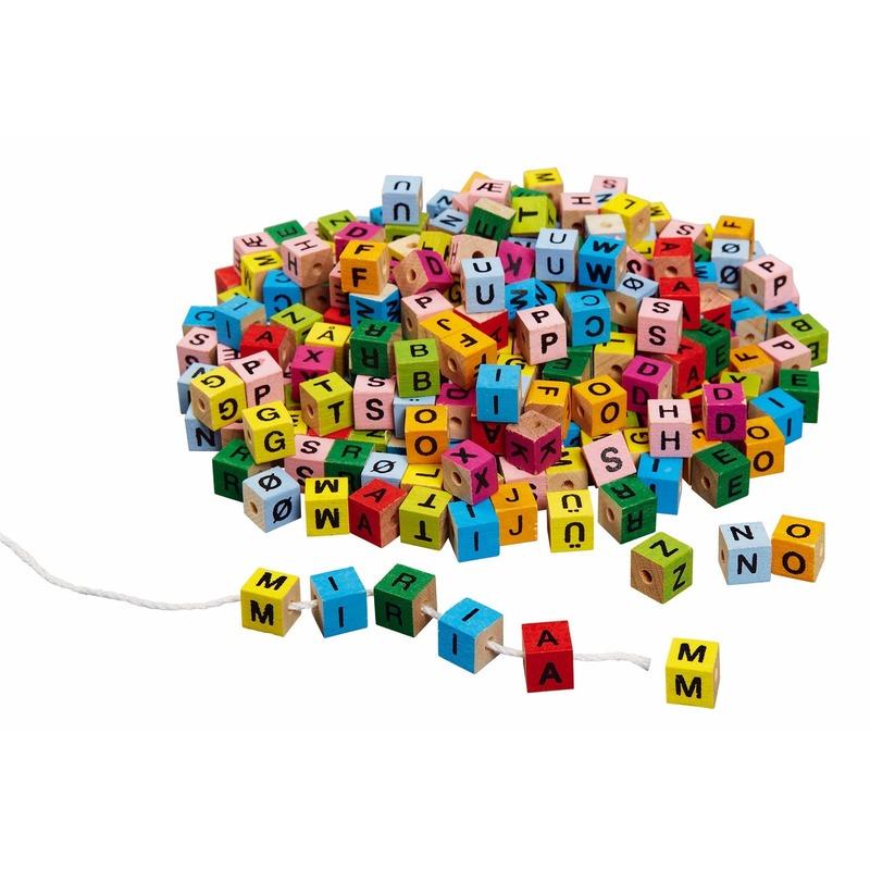 Image of 350 letter steentjes voor kettingen maken