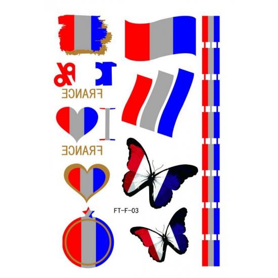 Image of 3D Tattoos Frankrijk