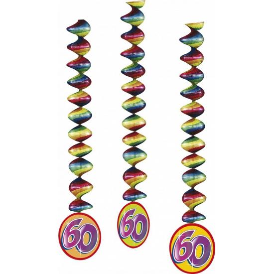 Image of 3x feestartikelen 60 jaar spiraal