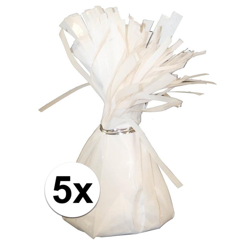 Image of 5 Ballongewichten wit 170 gr