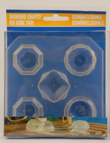 Image of 5 diamant vormige ijsklontjes