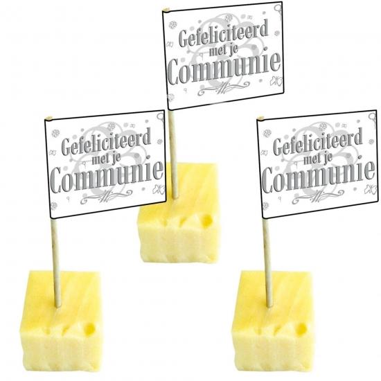 Image of 50 cocktailprikkers van communie