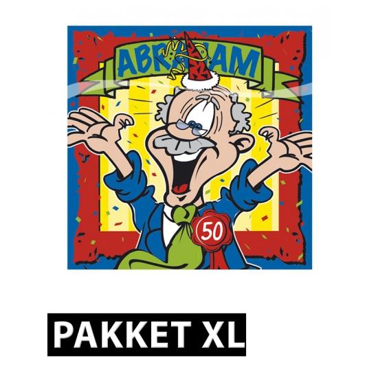 Image of 50 jaar Abraham feestpakket XL