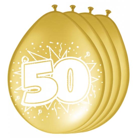 Image of 50 jaar jubileum ballonnen