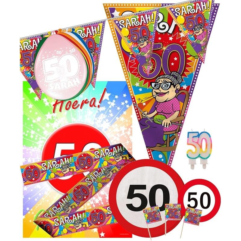 Image of 50 jaar Sarah feestpakket Large