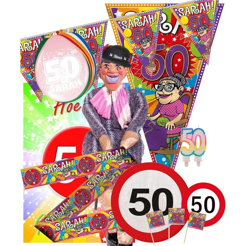 Image of 50 jaar Sarah feestpakket XL