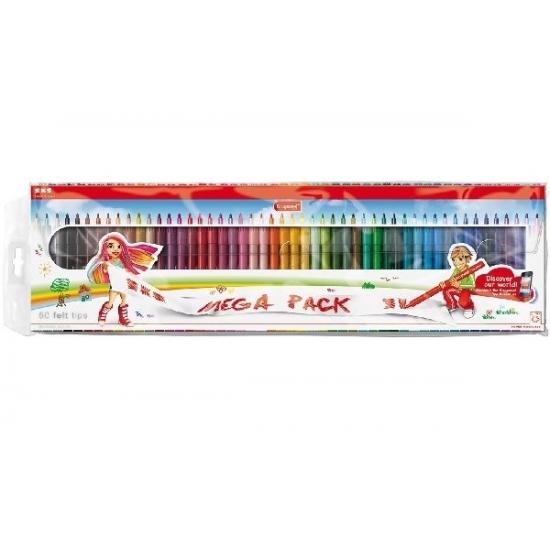 Image of 50 stuks top kwaliteit viltstiften