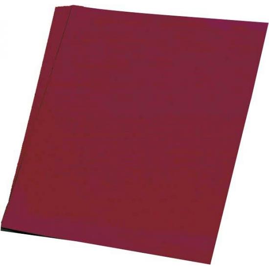 Image of 50 vellen bordeaux hobby papier A4