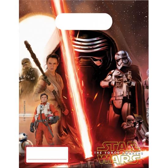 Image of 6 stuks Star Wars uitdeelzakjes