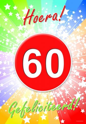 Image of 60 jaar feestartikelen poster