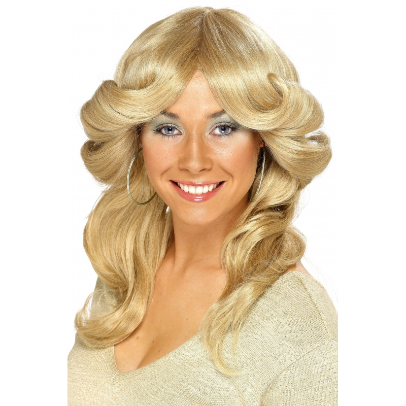 Image of 70s damespruik in het blond
