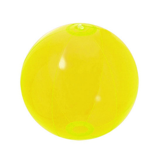Image of 90s party strandbal geel
