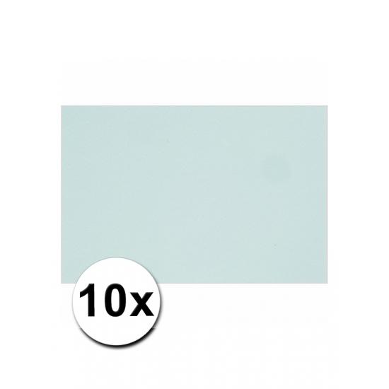 Image of A4 formaat karton in het lichtblauw 10x
