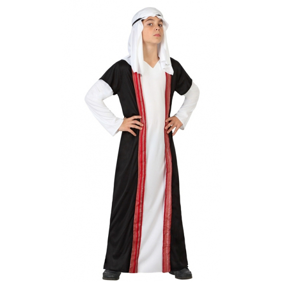 Arabische sjeik kostuum voor kinderen. arabische outfit voor kinderen, inclusief de jurk, hoofddoek en ...