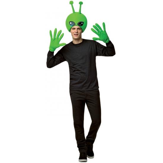 Image of Accessoires verkleed set alien