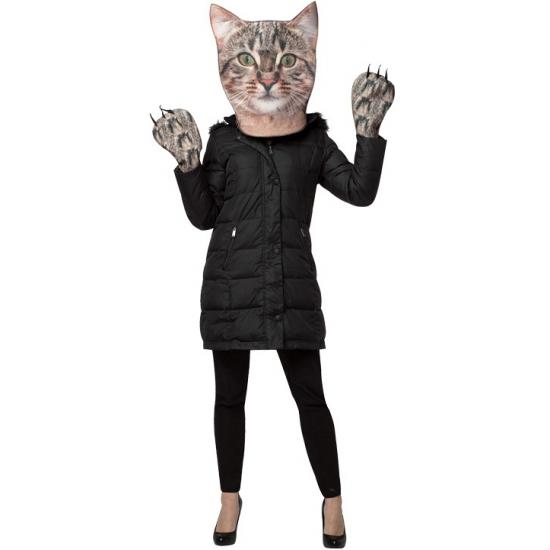 Image of Accessoires verkleed set kat