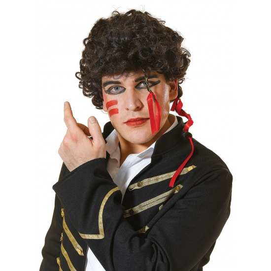 Image of Adam Ant heren pruik