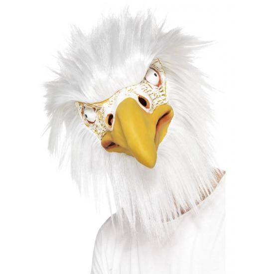 Image of Adelaar dierenmaskers met haar