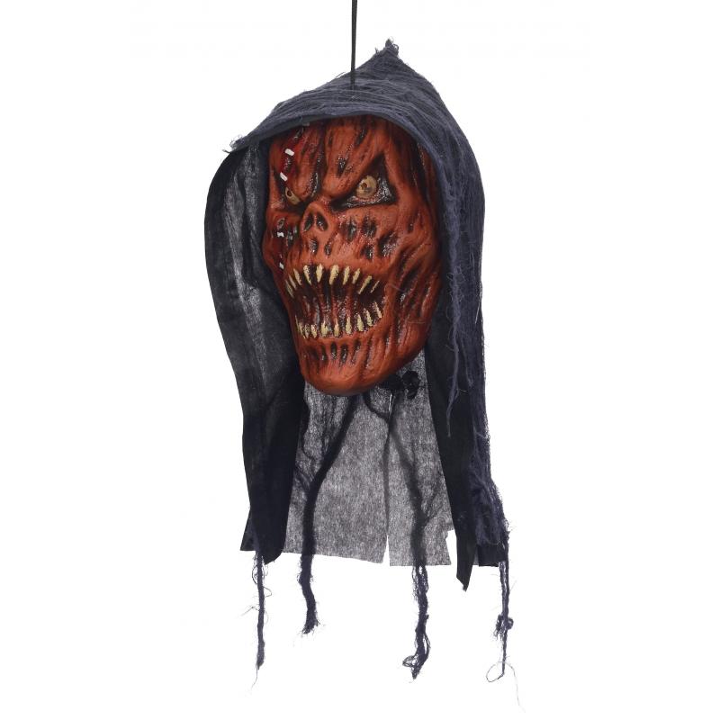 Image of Afgehakt duivelshoofd deco pompoen