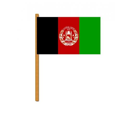 Image of Afghanistan decoratie zwaaivlag