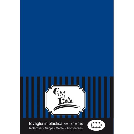 Image of Afneembaar tafelkleed donkerblauw 140 x 240 cm