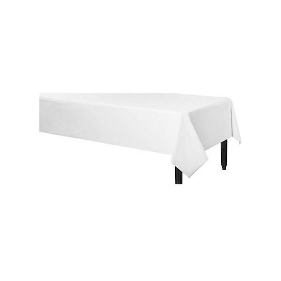 Image of Afneembaar tafelkleed wit 140 x 240 cm