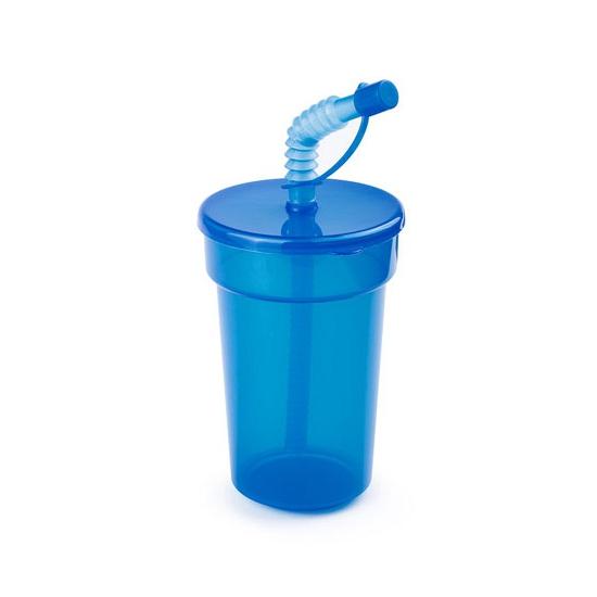 Image of Afsluitbare limonadebeker blauw 400 ml