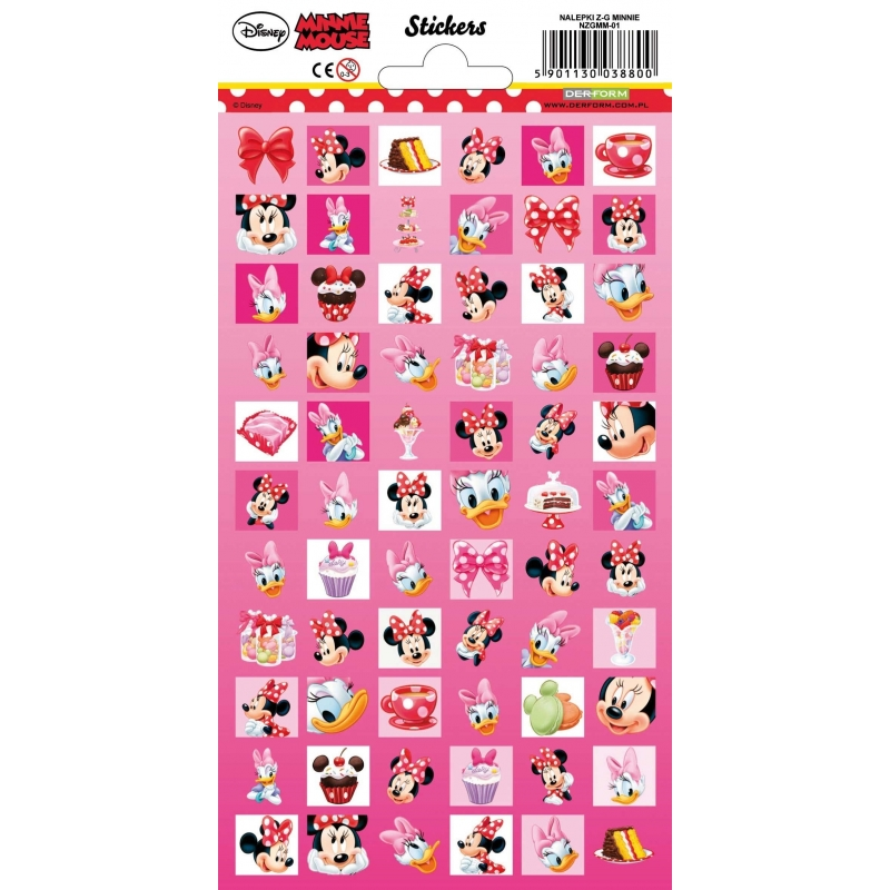 Image of Agenda stickers Minnie Mouse