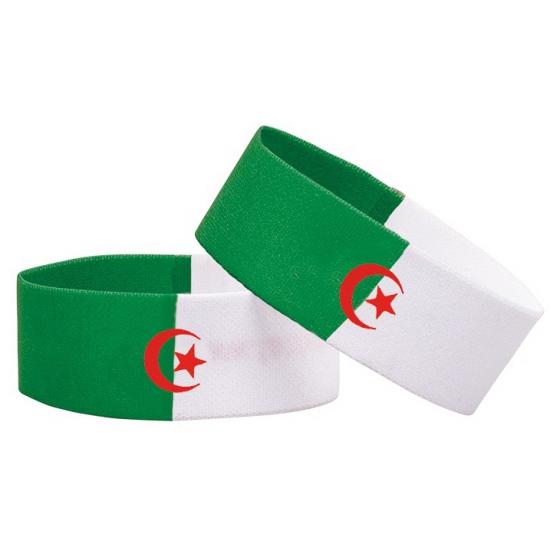 Image of Algerije sport polsbandje