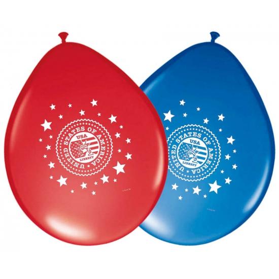 Image of Amerika ballonnen 8 stuks