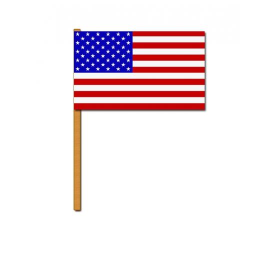 Image of Amerikaans zwaaivlaggetje