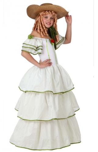 Image of Amerikaanse kolonisten jurk voor meisjes