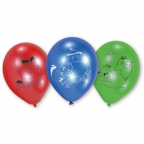 Image of Angry Birds ballonnen 6 stuks