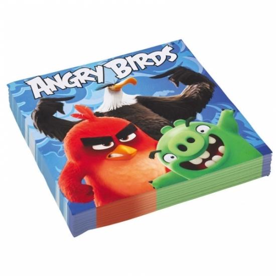 Image of Angry Birds servetten 20 stuks