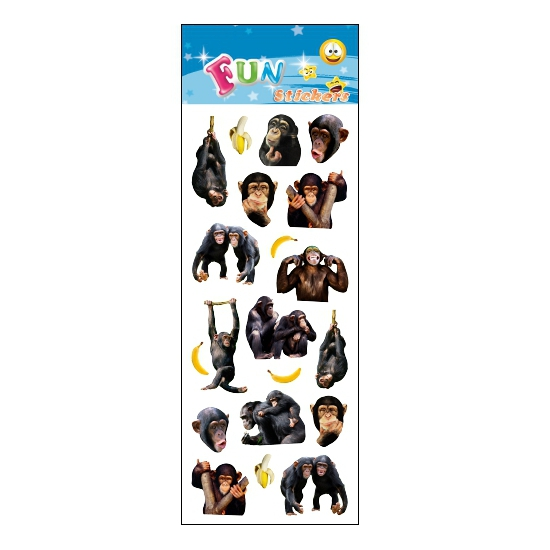 Image of Apen feestje stickers