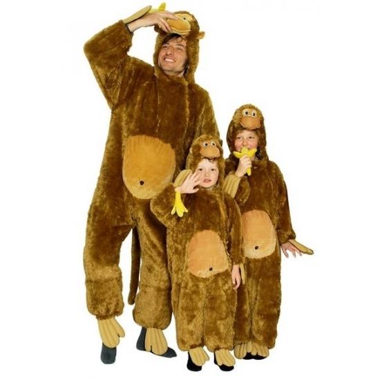 Image of Apen verkleed jumpsuit voor kids
