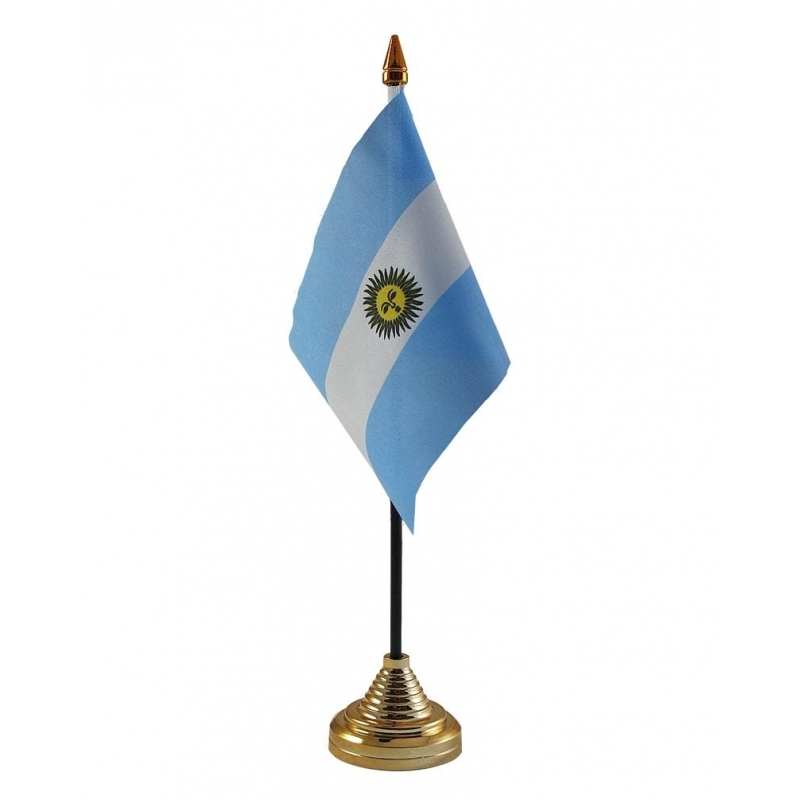 Image of Argentijns vlaggetje voor op tafel