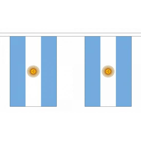 Argentinie vlaggenlijnen 9 m