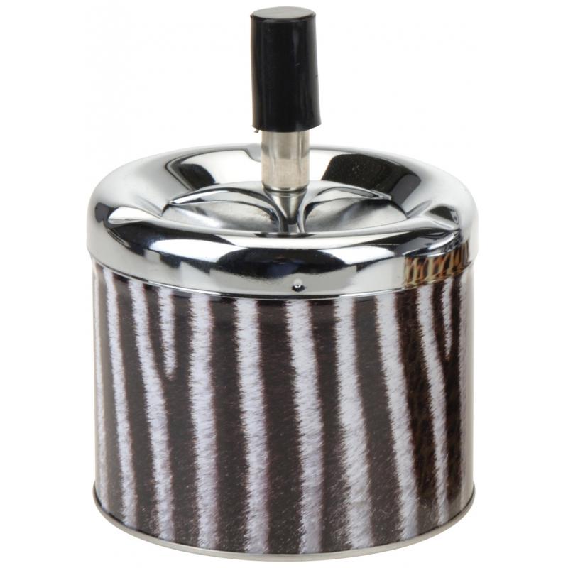 Image of Asbak met zebraprint 12 cm