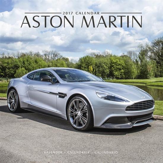Image of Auto kalender 2017 Aston Martin