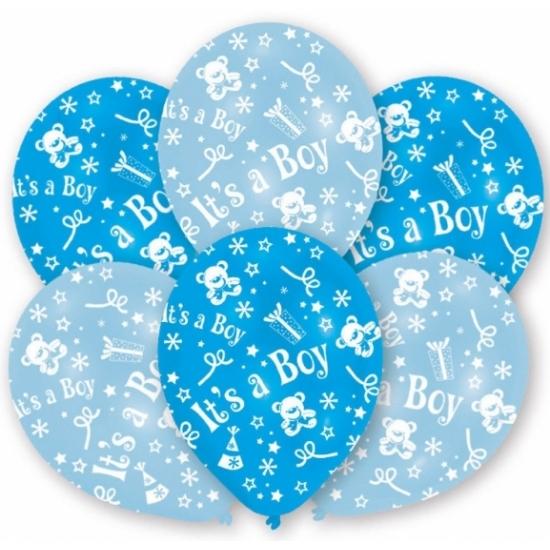 Image of Baby jongen ballonnen blauw