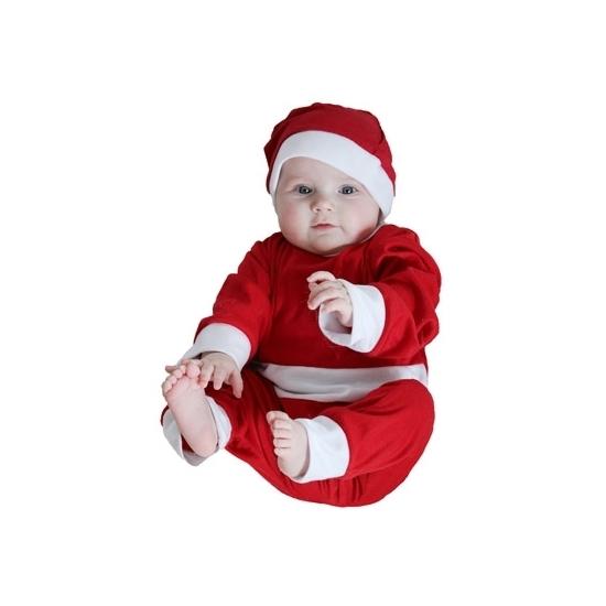Image of Baby kerst pakje met kerstmuts