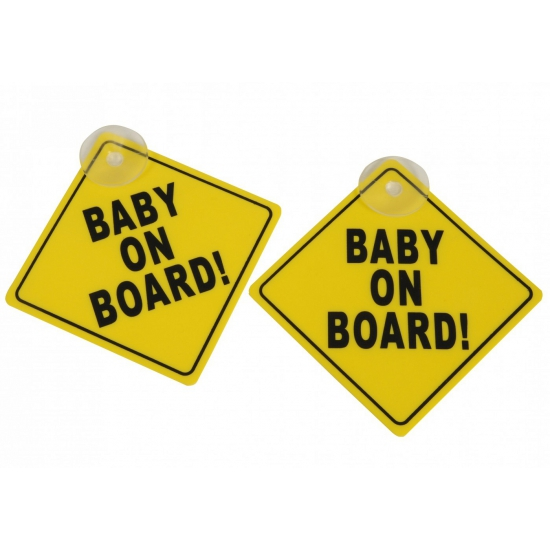 Image of Baby on board auto bordjes